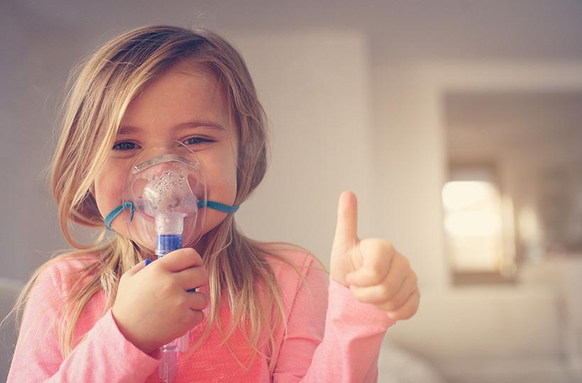 Inhalationsgerät Kind
